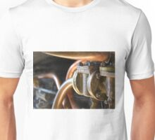 Steam Train Engine Works in Pastels Unisex T-Shirt