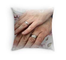 casual wedding Throw Pillow