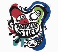 Workin' Stiff - primary colors by Andi Bird