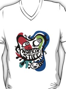 Workin' Stiff - primary colors T-Shirt