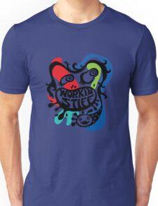 Workin' Stiff - primary colors T-Shirt