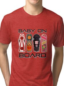 Baby on (Hover) Board Tri-blend T-Shirt