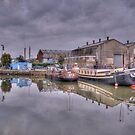 Houseboats at Gravesend Marina by brianfuller75