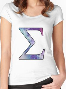 Sigma Galaxy Women's Fitted Scoop T-Shirt