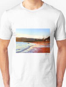 Wemyss Bay Scotland Summer Evening Beach T-Shirt