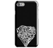 bouquet of disorder on black iPhone Case/Skin