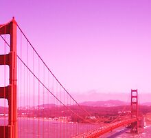 Golden Gate Redness by Lindsey Fisher