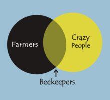 Beekeeping venn diagram geek funny nerd by sayasiti