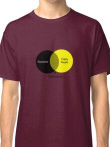 Beekeeping venn diagram geek funny nerd Classic T-Shirt