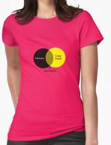 Beekeeping venn diagram geek funny nerd Womens Fitted T-Shirt