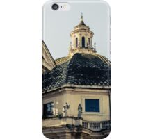 Rome - Details from Piazza del Popolo  iPhone Case/Skin
