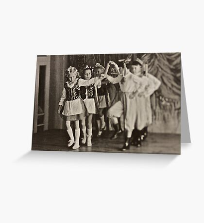 ♥ ♥ ♥ ♥ My Krakowiak Dance with  ♥ ♥ ♥ ♥ beautiful blonde Ewa ♥ ♥ ♥ ♥ .Brown Sugar Live  Book Story.1961. Views (1169) favorited by (3) . Time and feelings to remember ! My wonderful memories ! Greeting Card