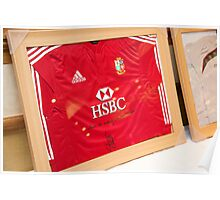British Lions Rugby Auction_9687 Poster