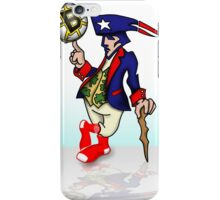 New England Mascot iPhone Case/Skin