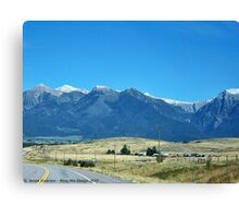 Mission Mountains 2 Canvas Print