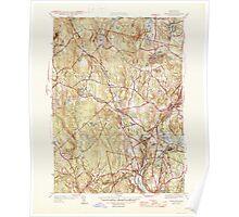 Massachusetts  USGS Historical Topo Map MA Sterling 352233 1946 31680 Poster