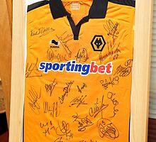 Wolverhampton Wanderers shirt_9689 by hallphoto