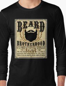 Beard Brotherhood Long Sleeve T-Shirt