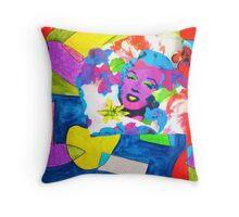Monroe Shapes Throw Pillow