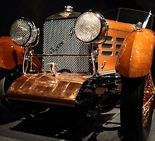 1924 Hispano Suiza Dubonnet Tulipwood Grille by transportation