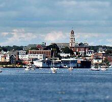 Gloucester -- Panoramic Tilt-Shift by Carrie Blackwood