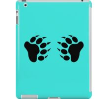 Black bear pride bear claw r sleeveless geek funny nerd iPad Case/Skin