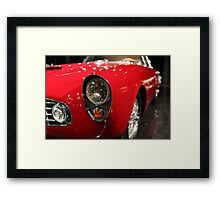 European Sportscar Headlights Framed Print