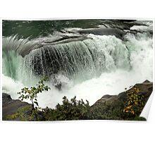 Fraser River - Rearguard Falls Provincial Park Poster