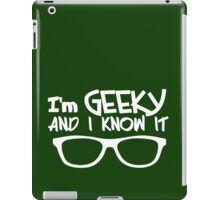 GEEKY iPad Case/Skin