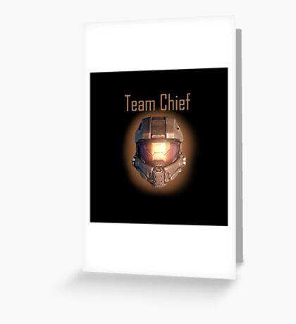 Halo 5 Team Chief Greeting Card