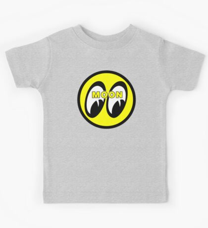 FUNNY T SHIRT MOON HOT ROD DRAGSTER FORD COUPE C Kids Tee