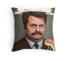 Swanson Steak Throw Pillow