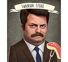 Swanson Steak Photographic Print