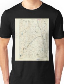 Massachusetts  USGS Historical Topo Map MA Barre 352451 1889 62500 Unisex T-Shirt