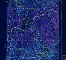 Massachusetts  USGS Historical Topo Map MA Bridgewater 351581 1940 31680 Inverted by wetdryvac