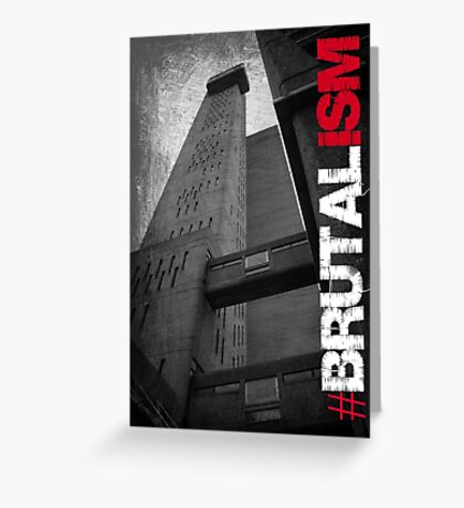 Brutalism #1 Greeting Card