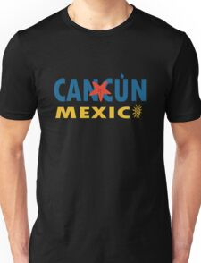 Cancun mexico graphic geek funny nerd Unisex T-Shirt
