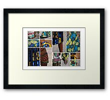 An African Touch of Fashion in the Heart of Europe Framed Print
