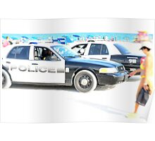 Miami Beach Patrol Poster