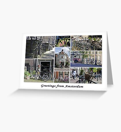 Bikes, Bikes, Bikes Greeting Card