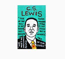 C.S. Lewis Folk Art Unisex T-Shirt