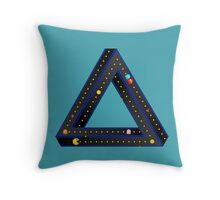 Pac Man Infinite Throw Pillow