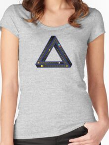 Pac Man Infinite Women's Fitted Scoop T-Shirt