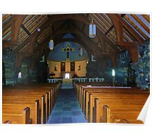St. Ann's Episcopal Church (Interior) Poster