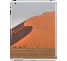 The red sand dunes of Sossusvlei desert, Namibia iPad Case/Skin