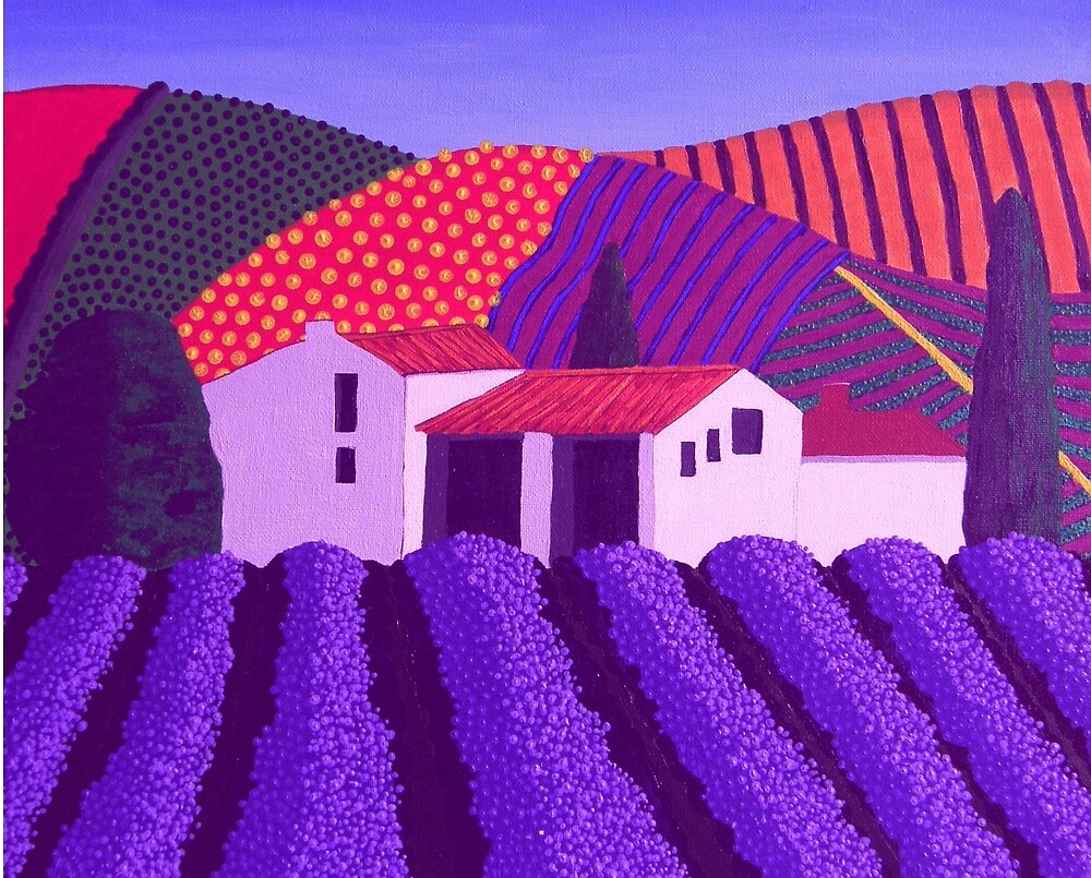 Lavender's er...........Mauve by IngridSonja