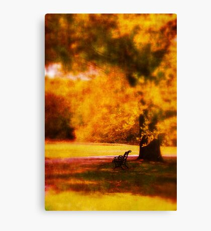 Waiting for ever Canvas Print
