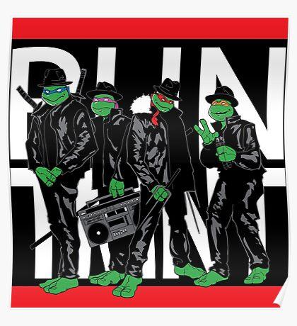 RUN TMNT Poster