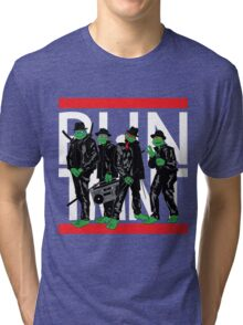 RUN TMNT Tri-blend T-Shirt