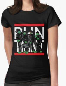 RUN TMNT Womens Fitted T-Shirt